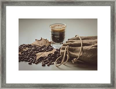 Espresso Coffee II Framed Print