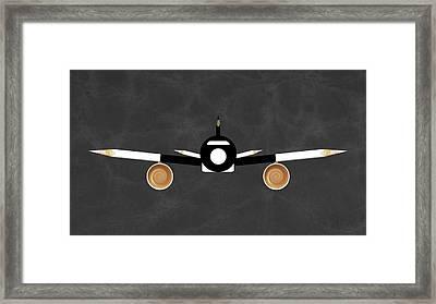 Espresso Jet Framed Print