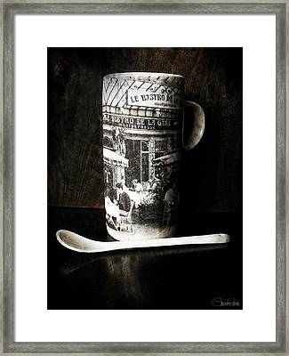 Espresso Framed Print by Sheena Pike