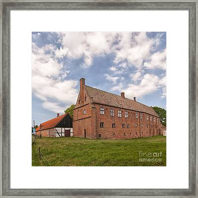 Esrum Kloster From Rear Framed Print