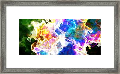 Framed Print featuring the mixed media Essence - Abstract Art by Jaison Cianelli