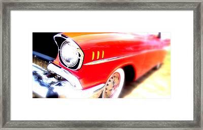 Essence Of Chevrolet Framed Print by Don Struke