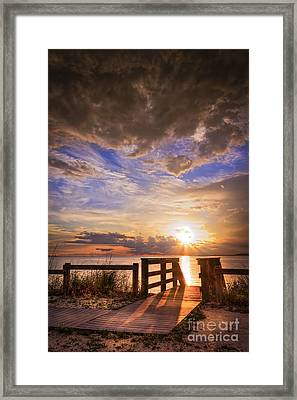 Essence Of Light Framed Print by Marvin Spates