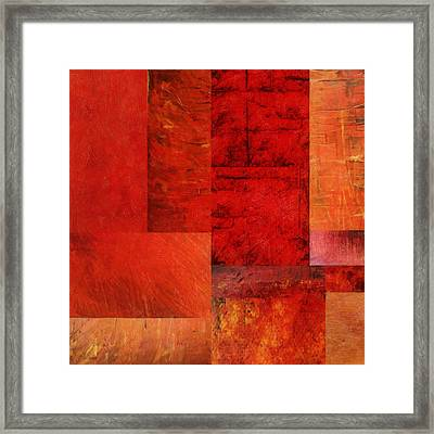 Essence Of Red 2.0 Framed Print