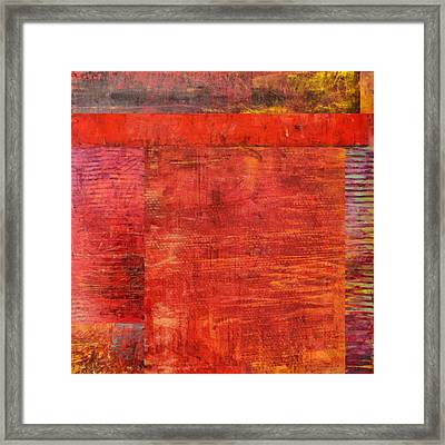 Essence Of Red Framed Print