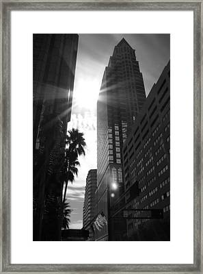 Essence Of The City Framed Print