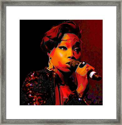 Estelle Framed Print by  Fli Art