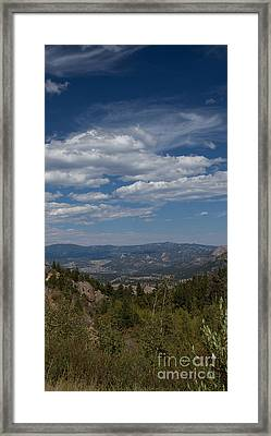 Estes Park In The Valley Framed Print