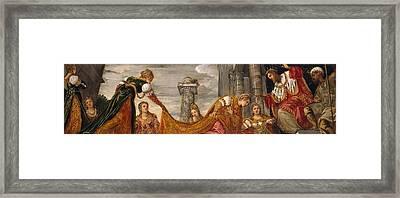 Esther And Ahasuerus Framed Print