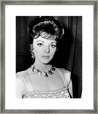 Esther And The King, Joan Collins Framed Print