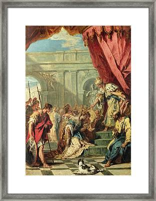 Esther Before Ahasuerus Framed Print