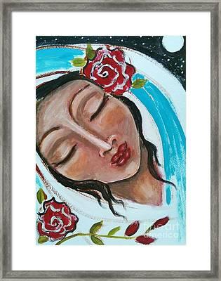 Esther Framed Print by Maya Telford