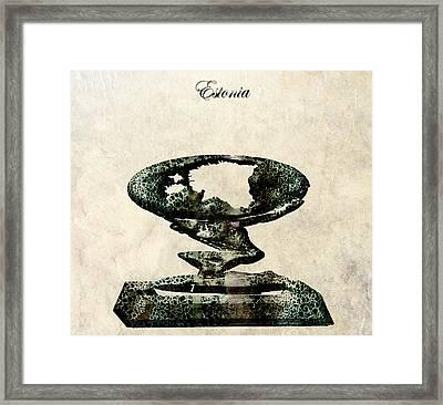 Estonia Framed Print by Brian Reaves