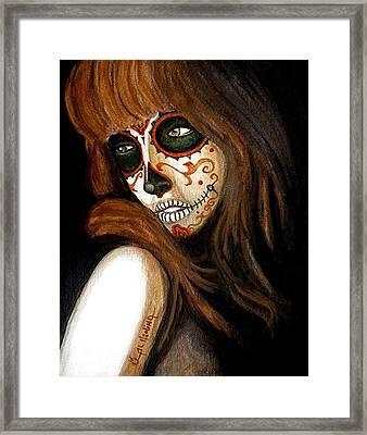 Estoy Perdida Sin Ti  Framed Print by Al  Molina