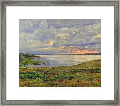 Estuary Polovinka Framed Print