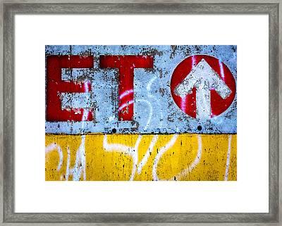 ET  Framed Print by Bob Orsillo