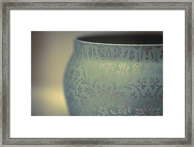 Etched In My Heart Framed Print