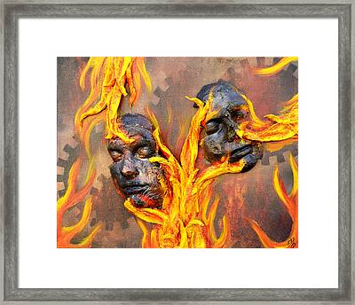 Eternal Damnation Framed Print