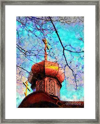 Eternal Faith Spring Framed Print