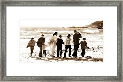 Eternal Family Framed Print