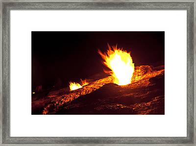 Eternal Flames Framed Print