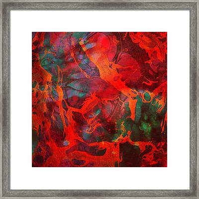 Eternal Flow Framed Print by Ally  White