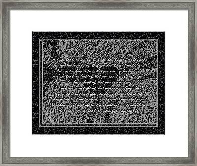 Eternal Life Framed Print