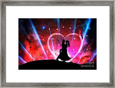 Eternal Love Framed Print by Phill Petrovic