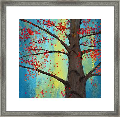 Eternal Passion Framed Print by Lourry Legarde