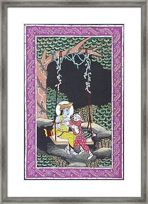 Eternal Romance Framed Print by Prasida Yerra