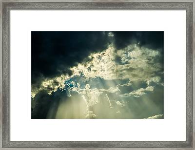 Eternal Skies - Featured 3 Framed Print by Alexander Senin