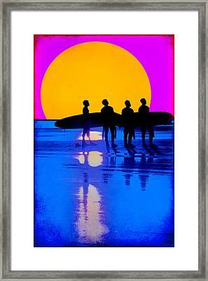 Eternal Summer Framed Print by Lisa Knechtel