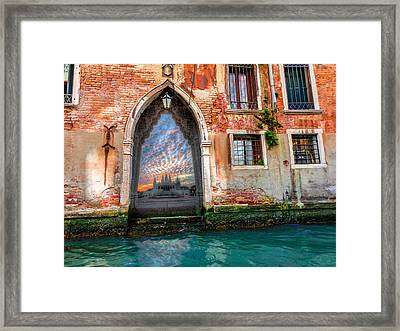 Framed Print featuring the photograph Eternal Way by Micah Goff