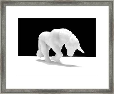 Eternelle Petite Licorne Framed Print by Marc Philippe Joly