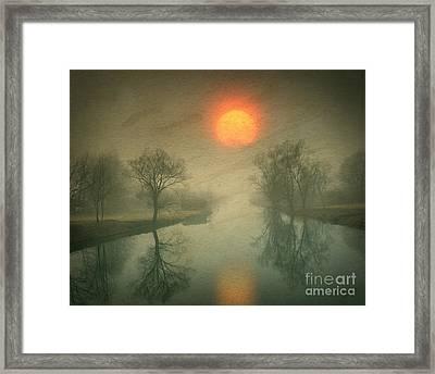 Eternity Framed Print by Edmund Nagele