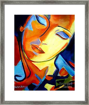 Framed Print featuring the painting Eternity by Helena Wierzbicki