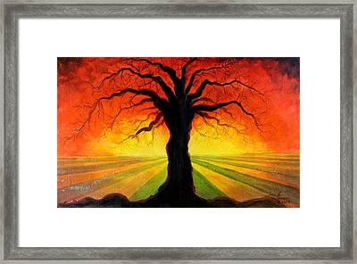 Eternity Framed Print by Kenny Henson