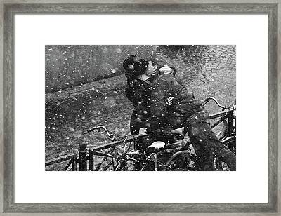 Eternity Of The Moment Framed Print