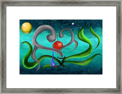 Eternity Of The Soul Framed Print by M Hammami
