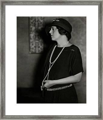 Ethel Barrymore Framed Print
