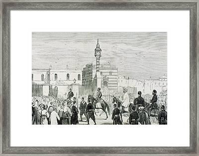 Ethem Pasha (1851-1909 Framed Print by Prisma Archivo