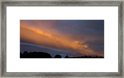 Ethereal Clouds Framed Print by Greg Reed