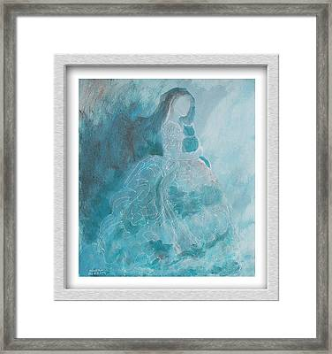 Ethereal Framed Print by Eve Riser Roberts