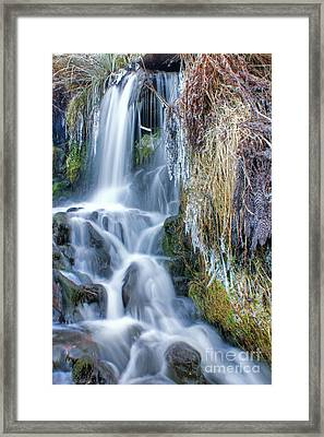 Ethereal Flow Framed Print
