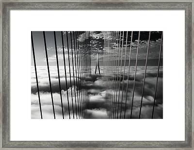Ethereal Land Mark Framed Print