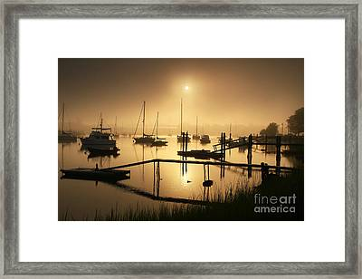 Ethereal Morning Framed Print by Butch Lombardi