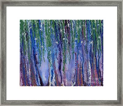 Etheric Forest Framed Print
