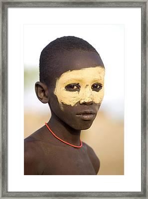 Ethiopia Boy Framed Print
