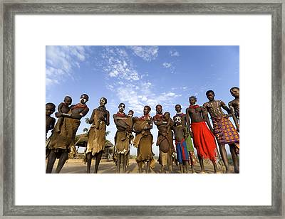 Ethiopia Groups Framed Print