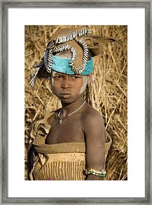 Ethiopia Tribe Framed Print